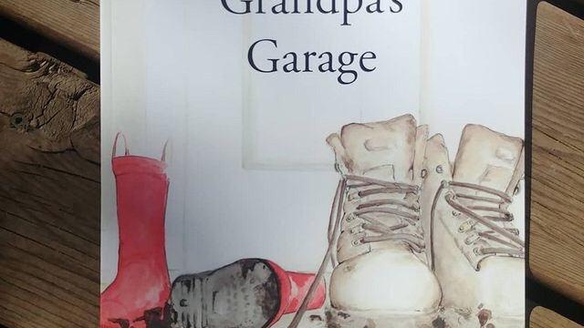 Grandpa's Garage - By Amber Antymniuk - Paperback