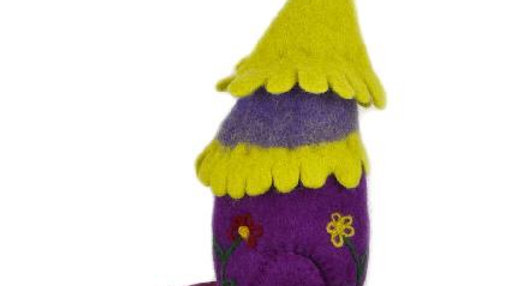 Papoose Wool Fairy House