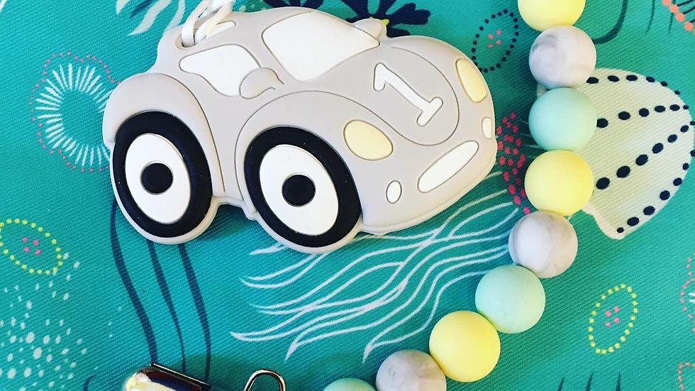 Swoon Baby Chews - Race Car Chew Clip