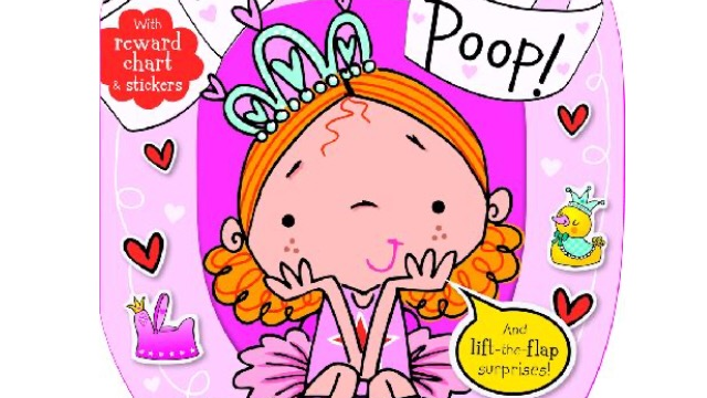 Even Princesses Poop Potty Training Book with Sticker Reward