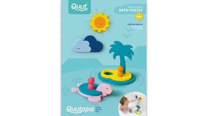 Quutopia Treasure Island Bath Puzzle