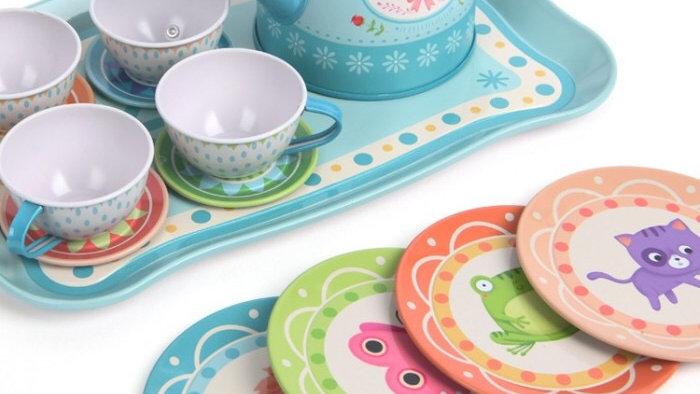 Mideer Tin Tea Set