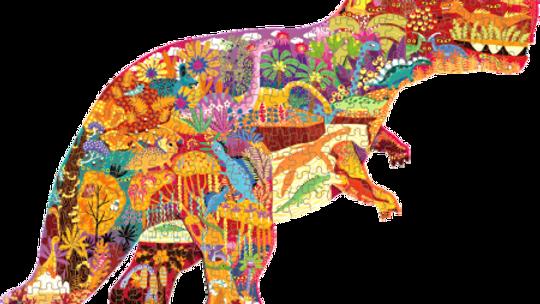 Mideer Huge Dinosaur Shaped Puzzle 280 pc