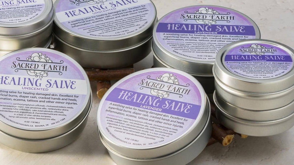 Sacred Earth Healing Salve