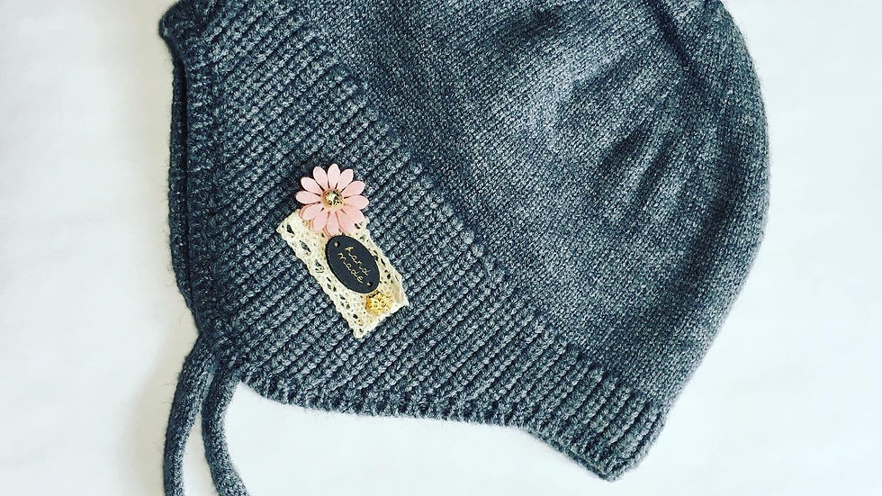 Baby Toque Knit Cotton