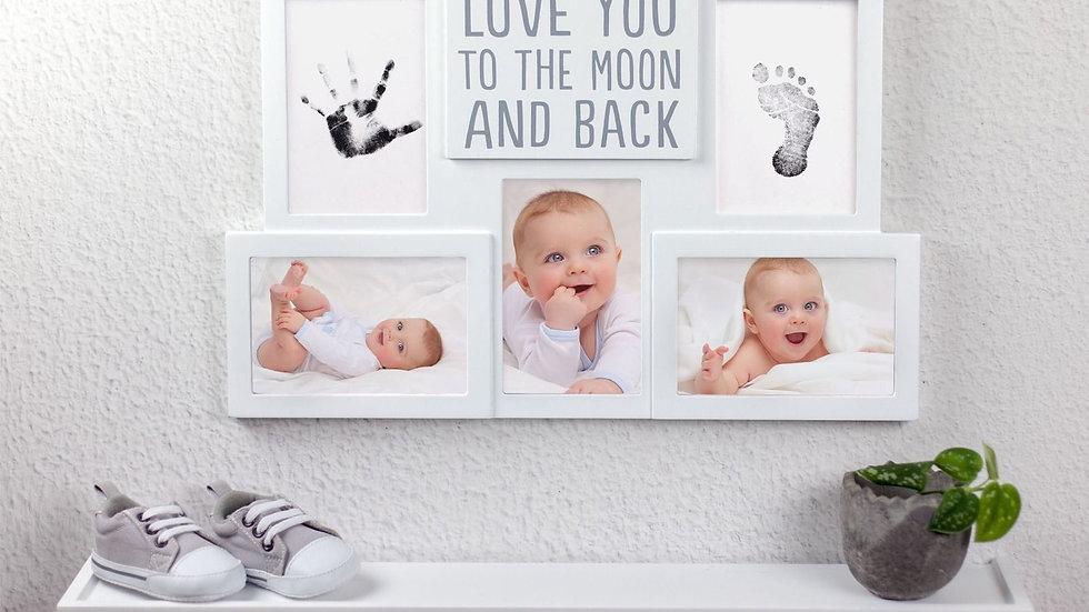 Pearhead Babyprints Collage Moon Frame