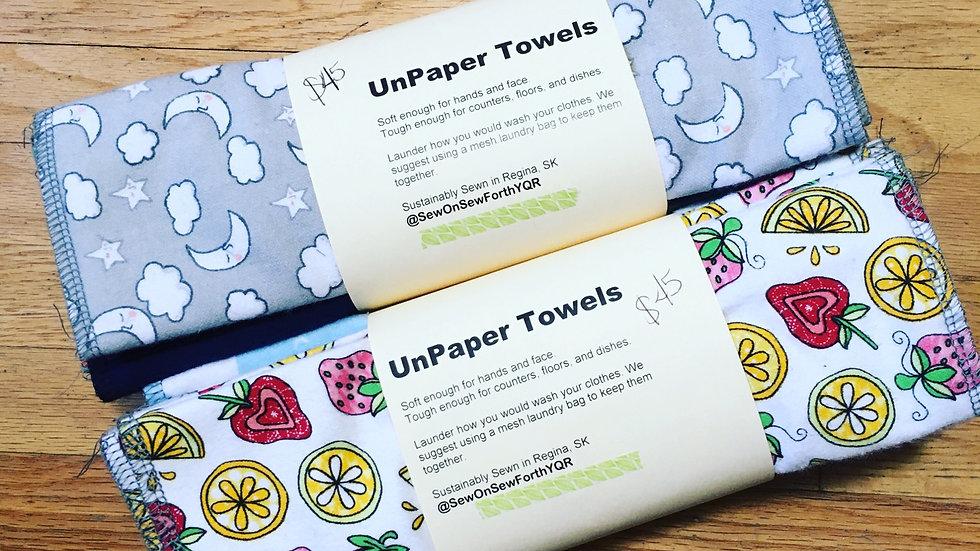 Sew On Sew Forth YQR UnPaper Towels