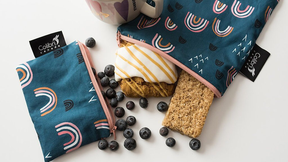 Colibri Reusable Snack Bags Small