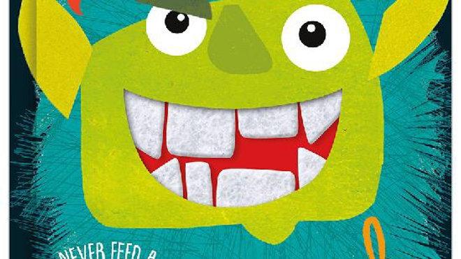 Never Feed A Troll A Casserole Board Book