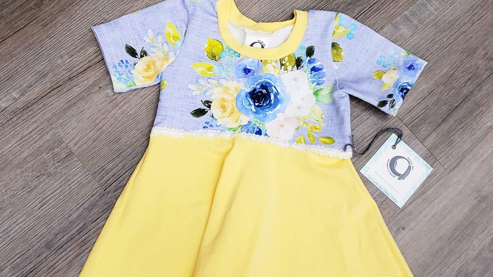 Rock Me Mamma & Baby Grow Dress 1-3y
