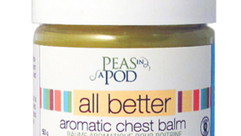 Peas in a Pod Chest Balm