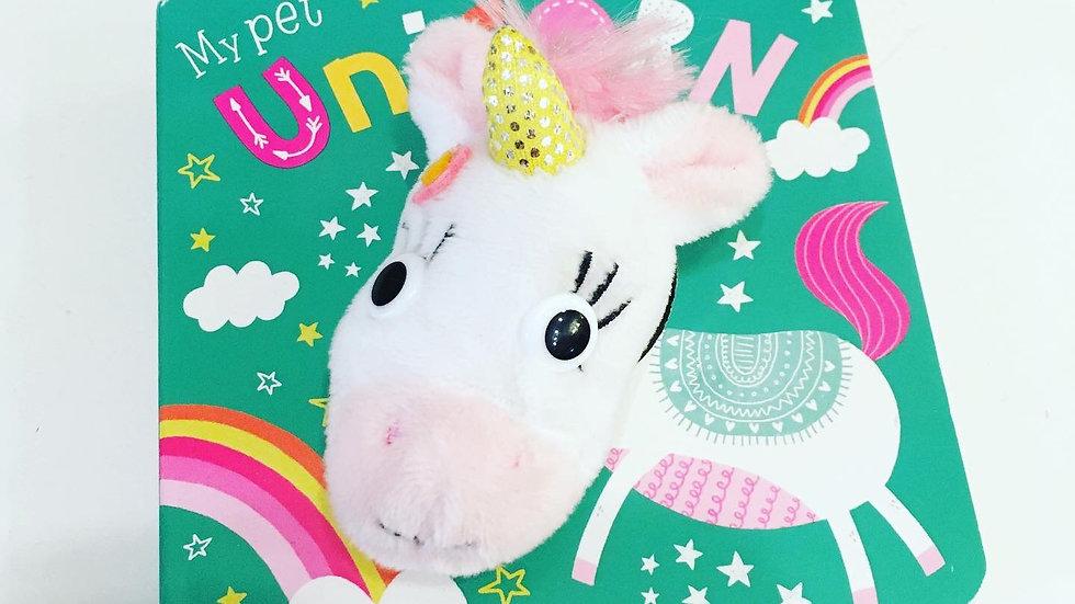 My Pet Unicorn Puppet Board Book