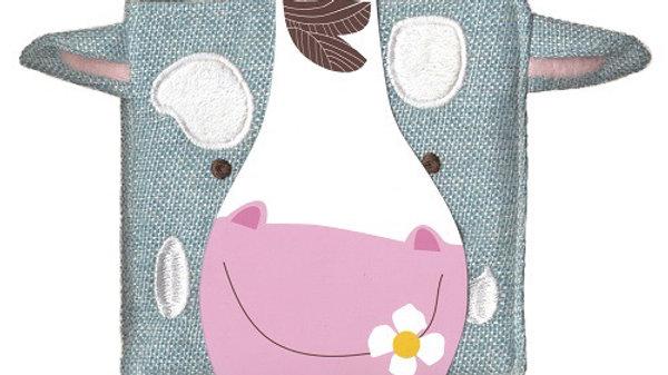 Petite Boutique Cow Cloth Book