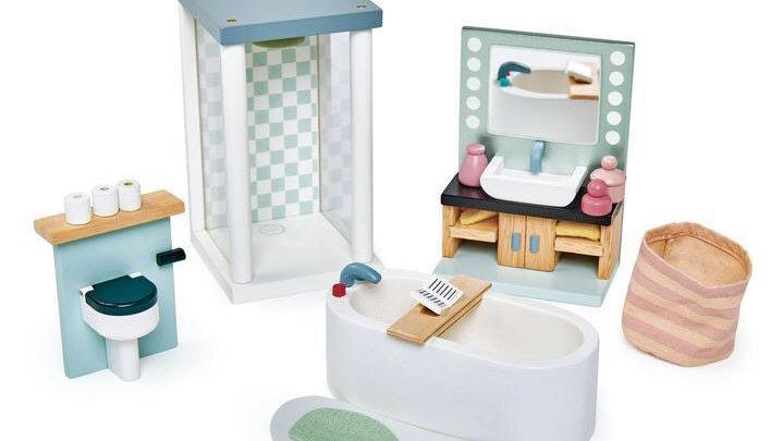Tender Leaf Toys Dovetail Bathroom Set