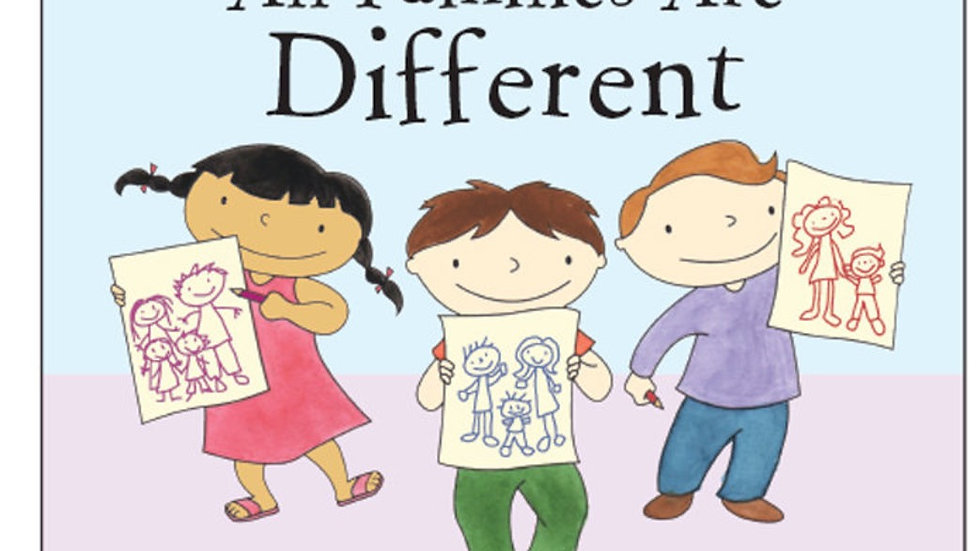 All Families are Different Hardcover Book