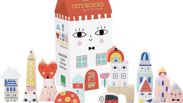 Vilac Suzy Ultman Tiny City Blocks