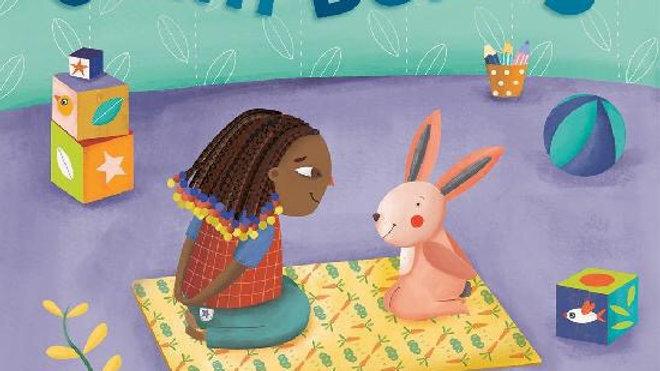 Barefoot Books Yoga Tots Calm Bunny Board Book