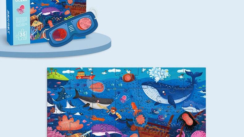 Mideer Secret Puzzle Ocean