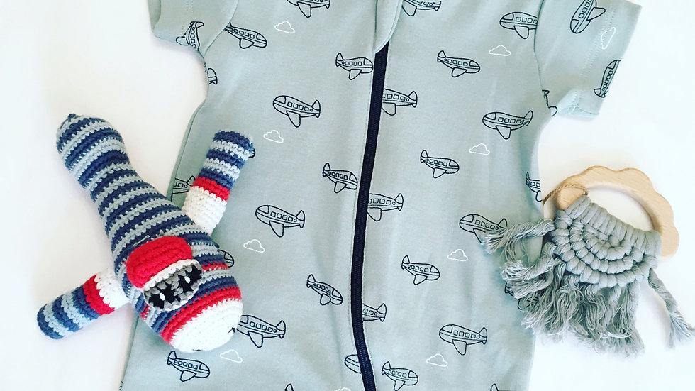 Airplane Baby Gift 6-12m