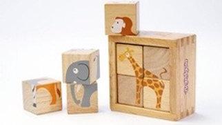 BeginAgain Buddy Blocks Safari Animals
