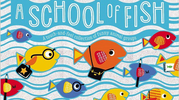 A School of Fish Board Book