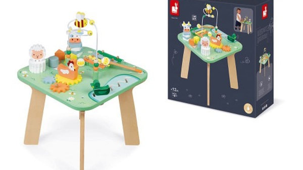 Janod Wood Meadow Activity Table