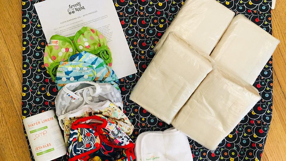 7-20 lbs Prefold Diaper Kit
