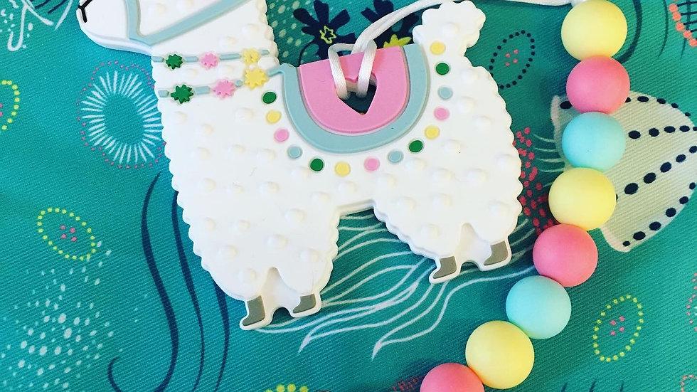 Swoon Baby Chews -  Llama Chew Clip