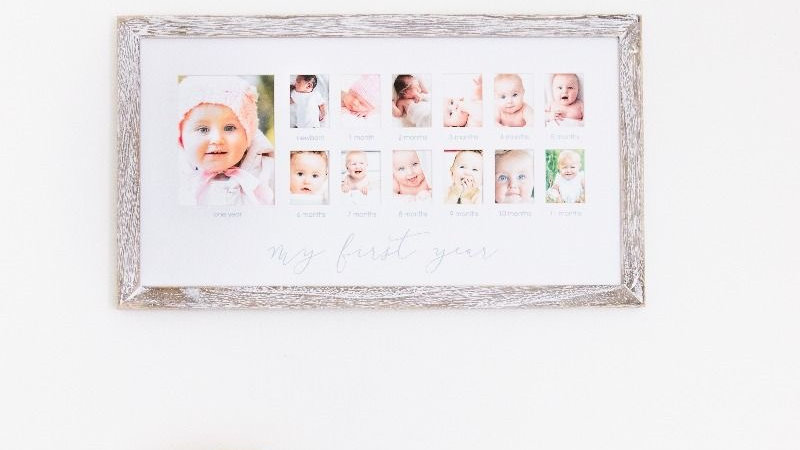 Pearhead First Year Frame Rustic