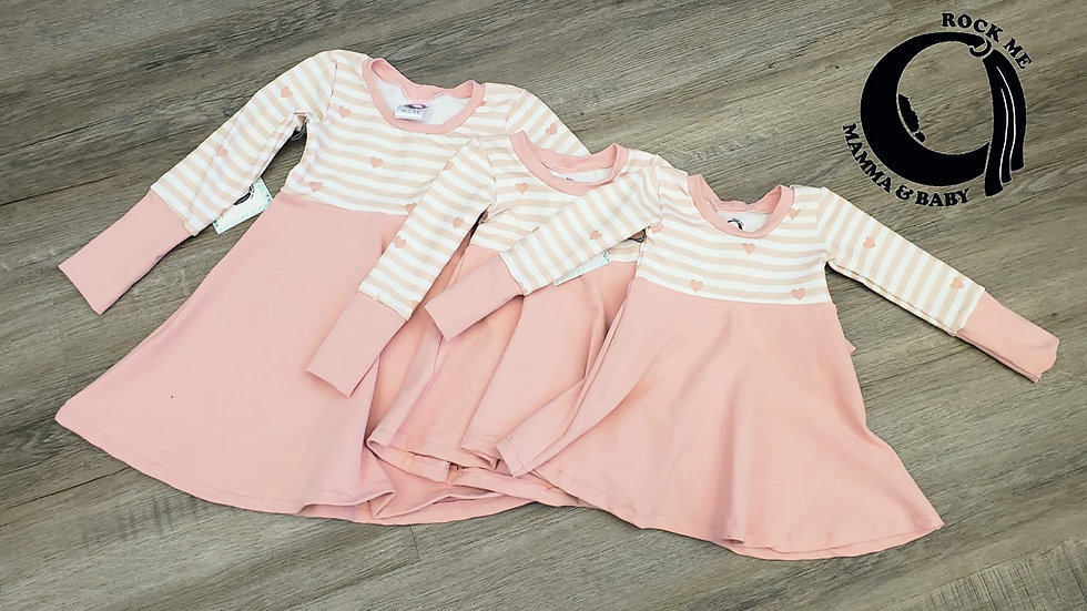 Rock Me Mamma & Baby Grow Dress 3-12m
