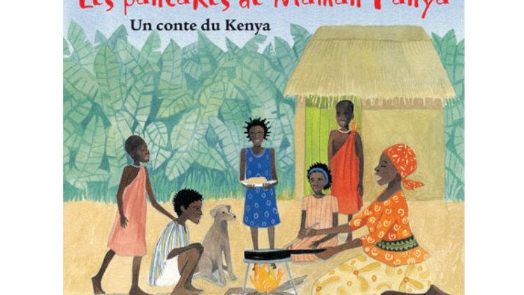 Barefoot Books Les Pancakes de Maman Panya Paperback Book