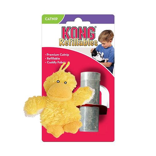 KONG Cat Refillable Catnip Duck