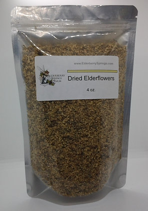 Dried Elderflowers (Shipping Cost Included)