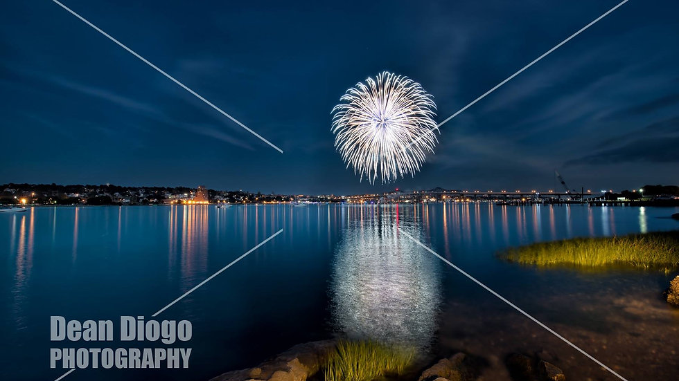 Fire works of July