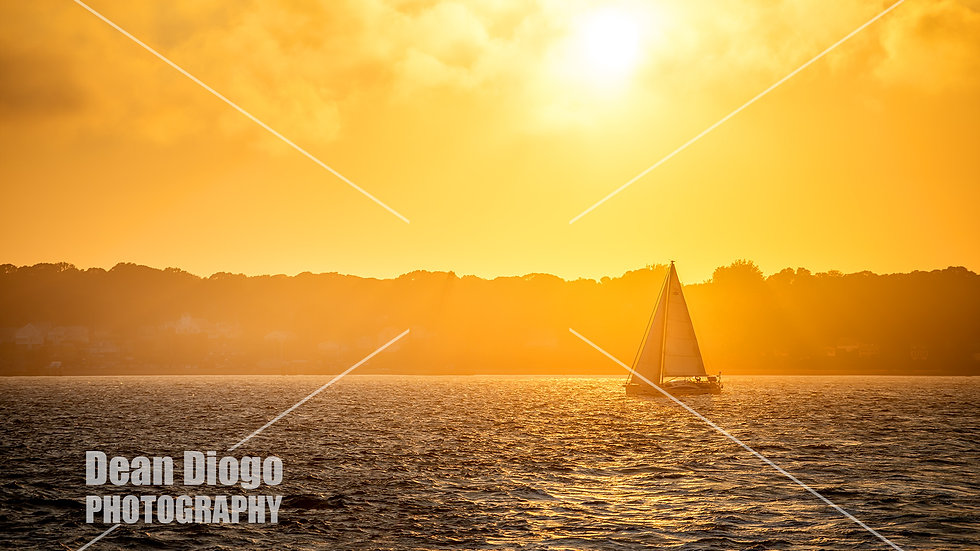 Sailing on the Sunset