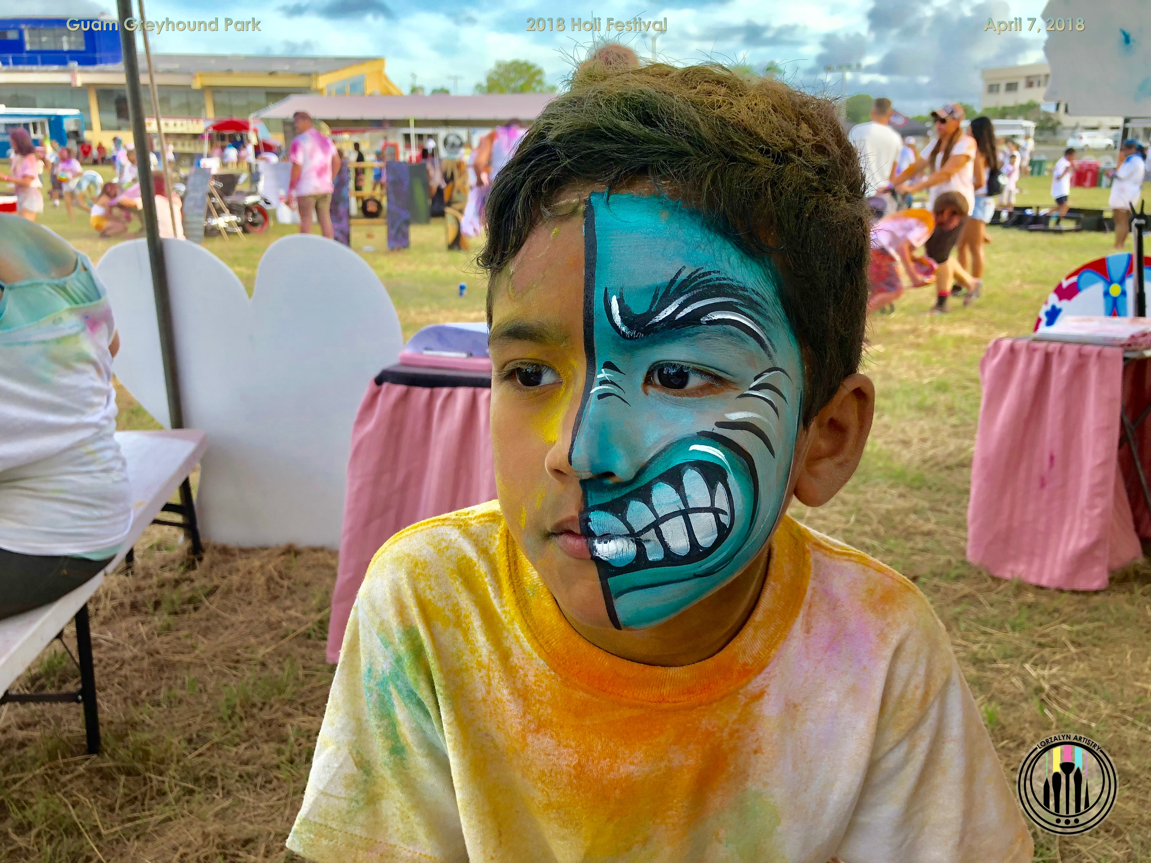 Face Painting 2   Hours