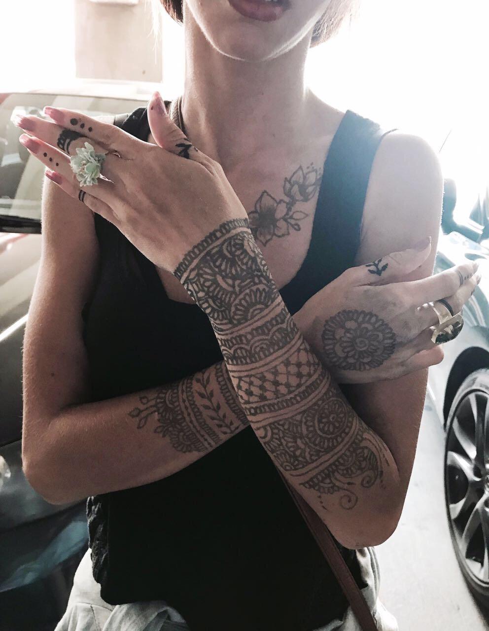 Henna / Jagua Tattoo 3   Hours