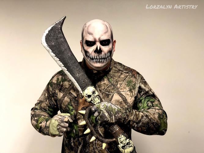 Halloween Skull Makeup Special Effects M