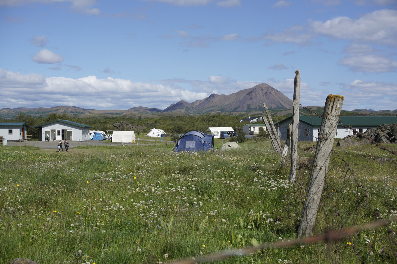 Campsite - Open all year round!