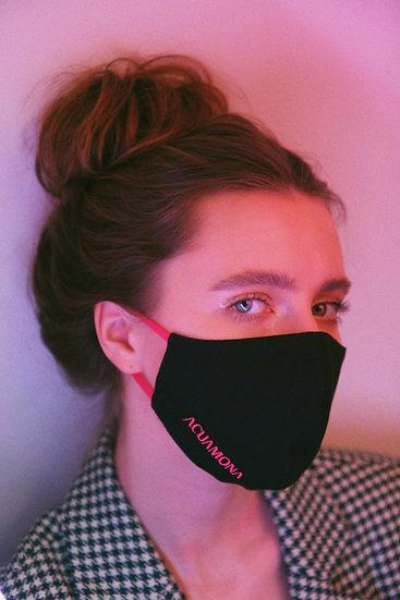 Black Acuamona Reusable Mask