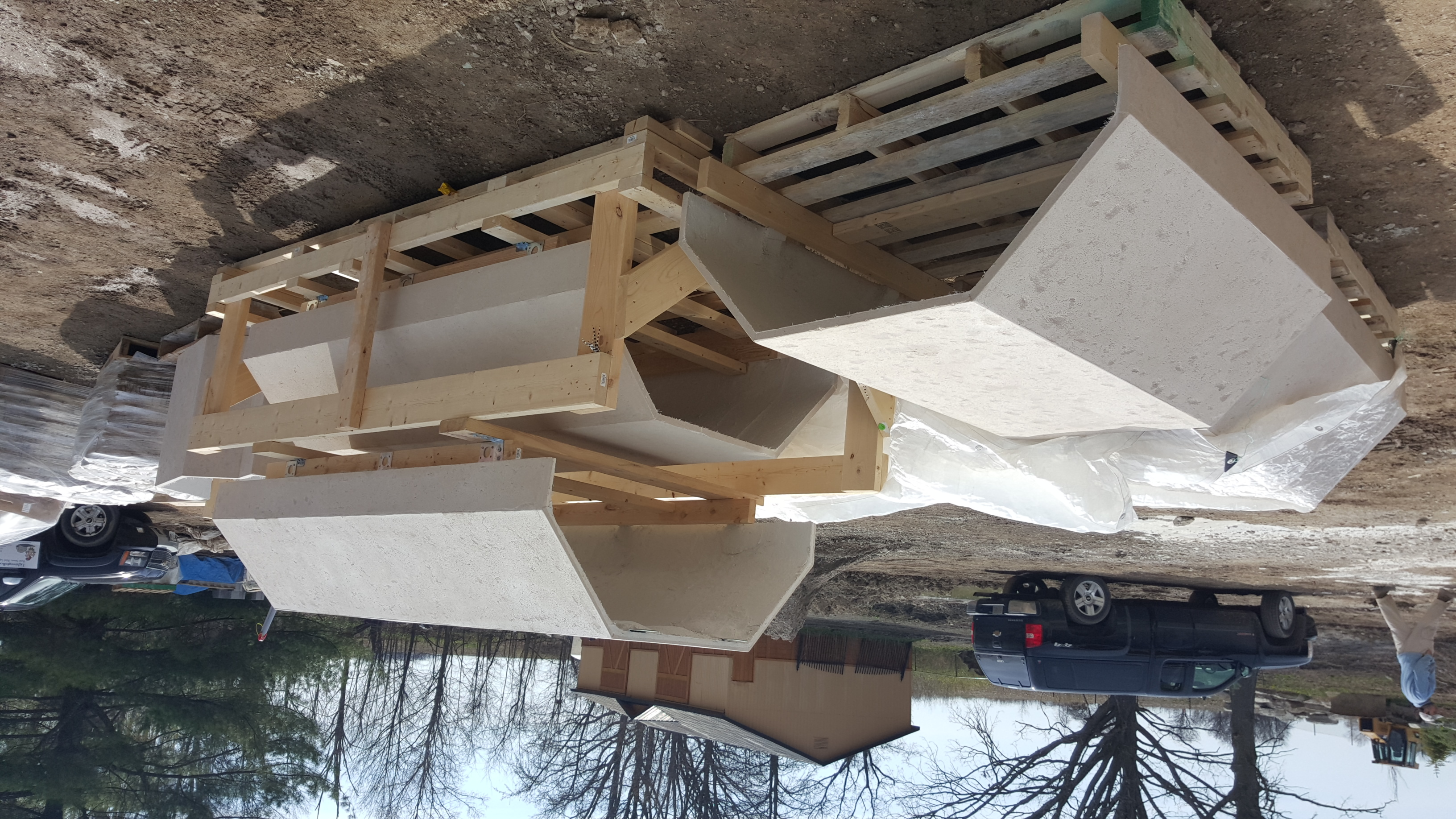 GFRC section veneer panels