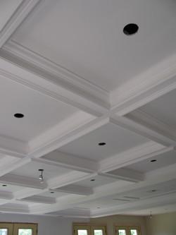 GRG beam ceiling