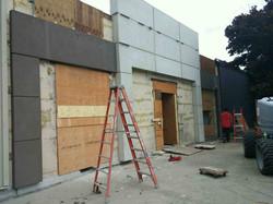 Ashley home store stone facade