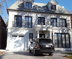 GFRC home facade exterior