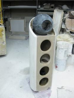 raw stone speaker