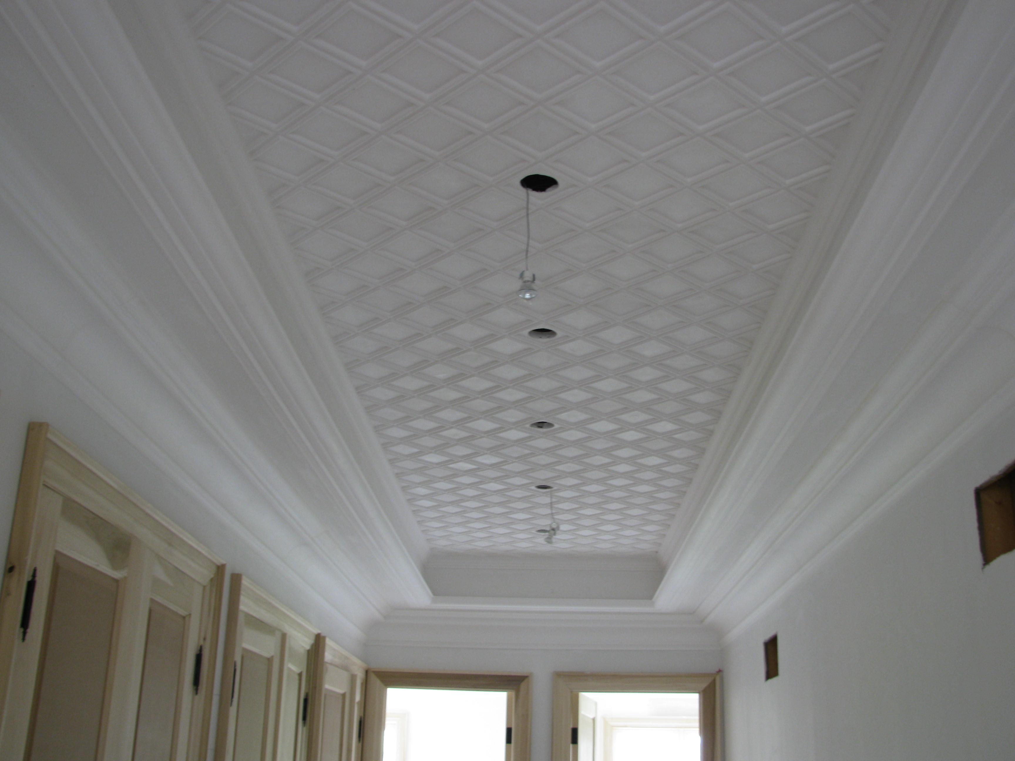 Hallway ceiling tile