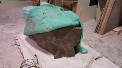 rubber mold rock