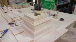 Square column cap