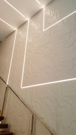 Wrinkle wall panel