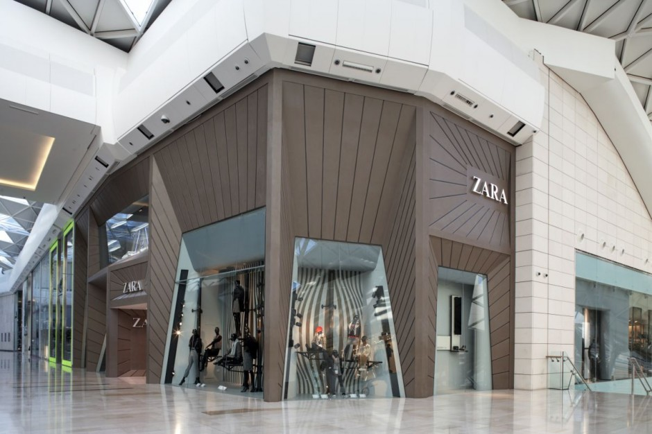 ZARA GRG facade